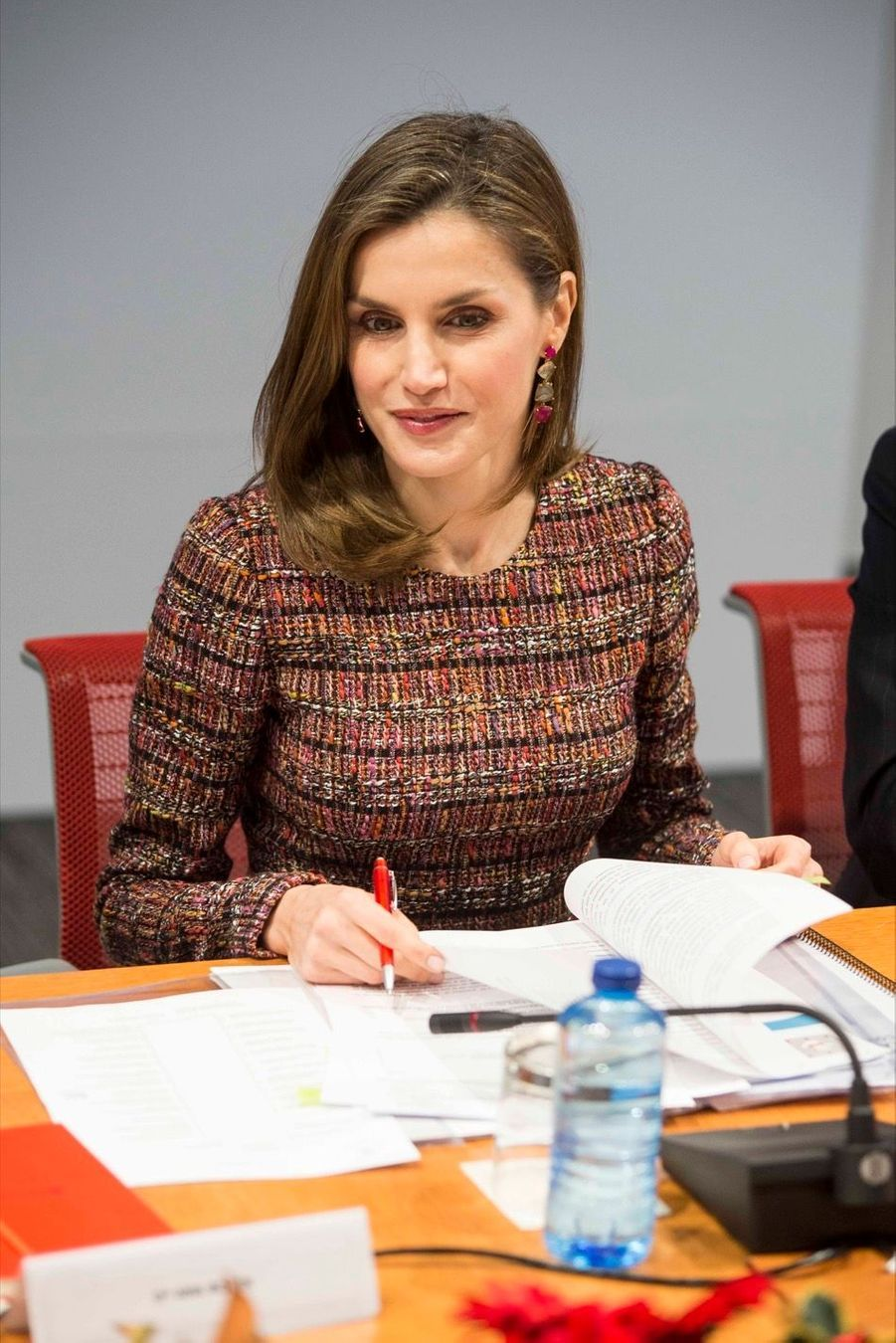 La Reine Letizia D'Espagne Lors D'une Réunion De La Fondation D'aide Contre La Toxicomanie 7