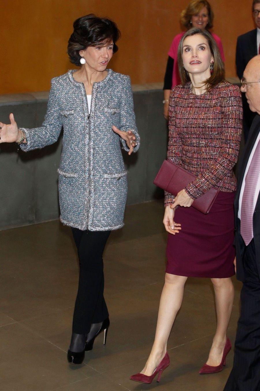 La Reine Letizia D'Espagne Lors D'une Réunion De La Fondation D'aide Contre La Toxicomanie 8