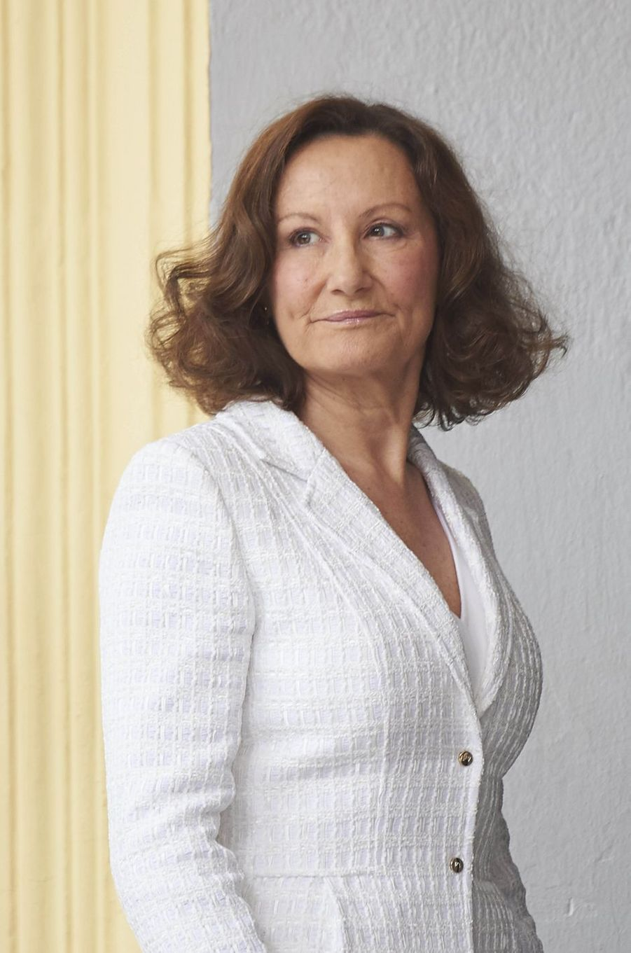 Paloma Rocasolano, la mère de la reine Letizia d'Espagne, à Madrid le 17 mai 2017
