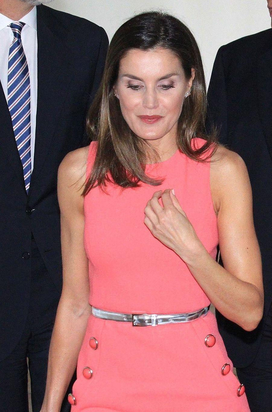 La reine Letizia d'Espagne à Washington, le 19 juin 2018