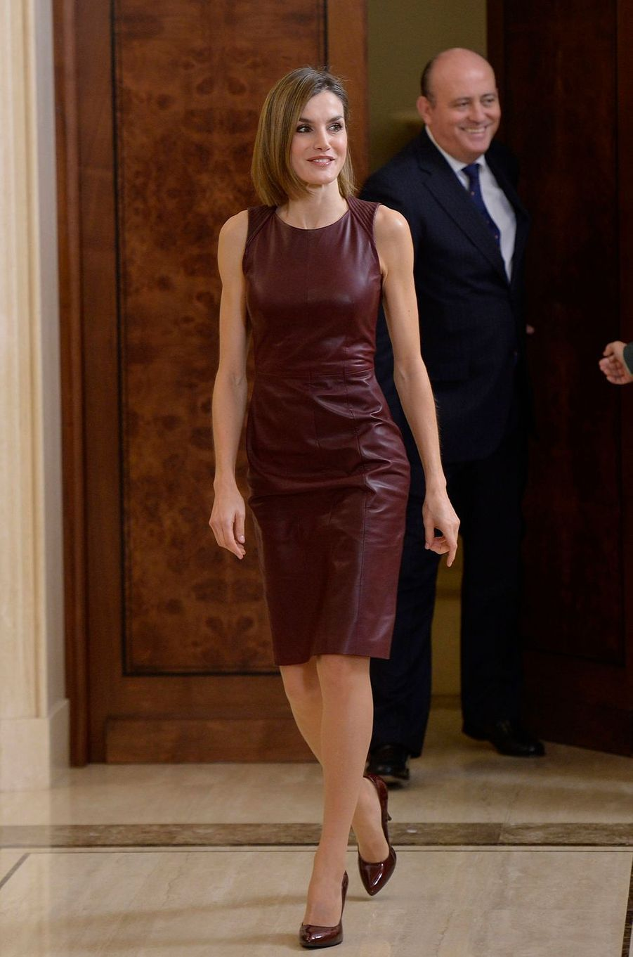 La reine Letizia d'Espagne, le 30 octobre 2015