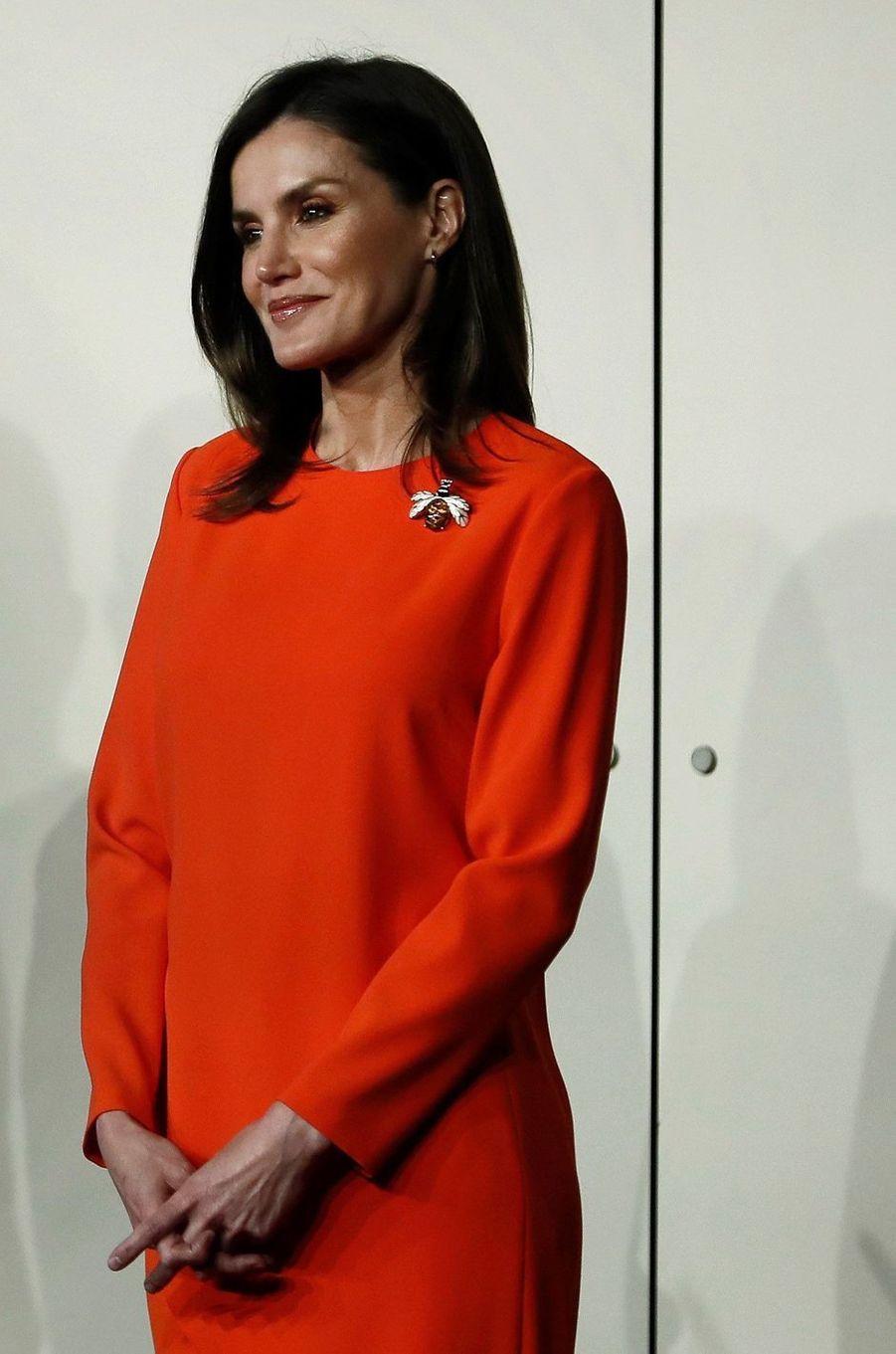 La reine Letizia d'Espagne à Buenos Aires, le 27 mars 2019