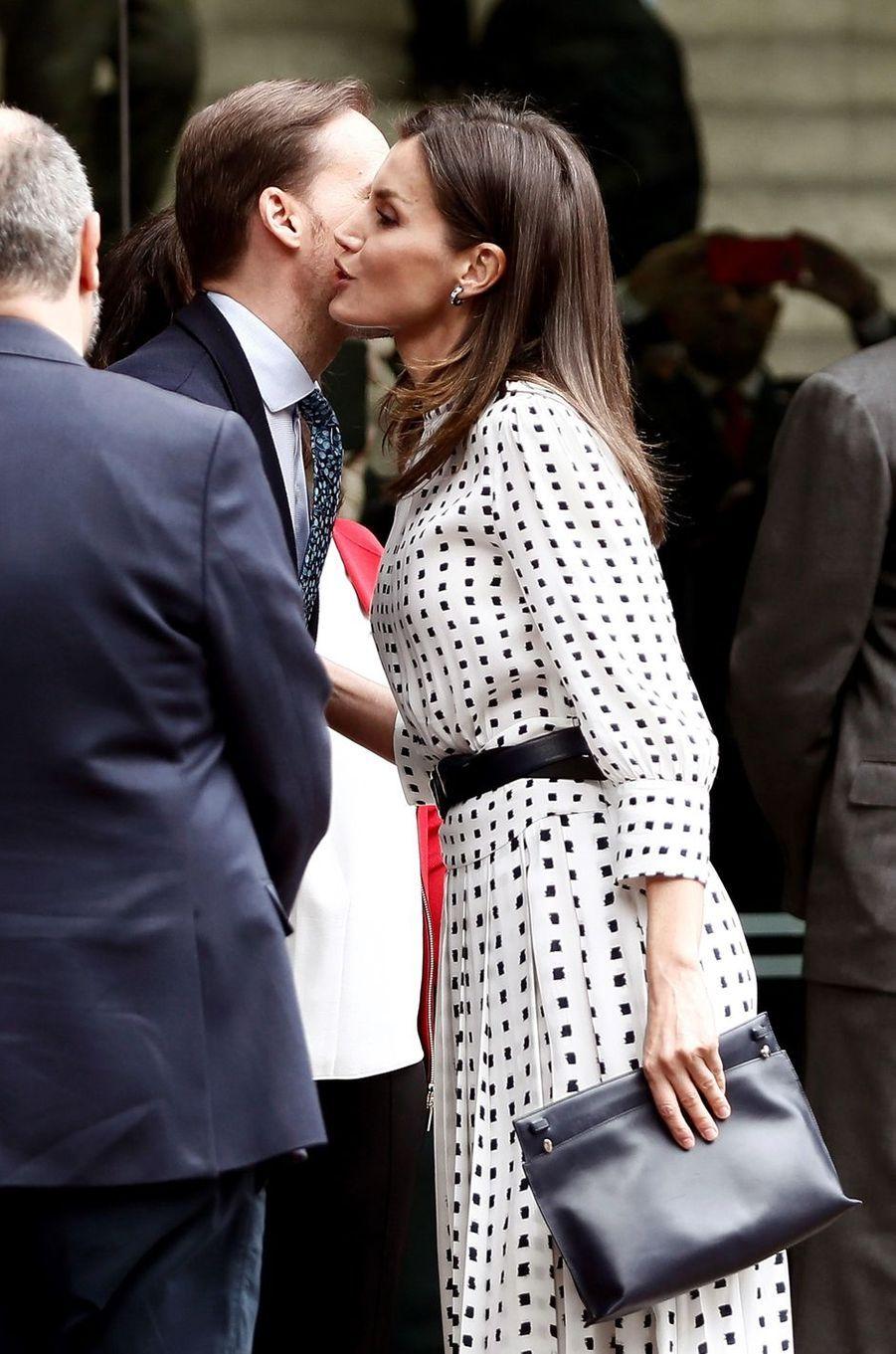 La reine Letizia d'Espagne à Cordoba, le 28 mars 2019
