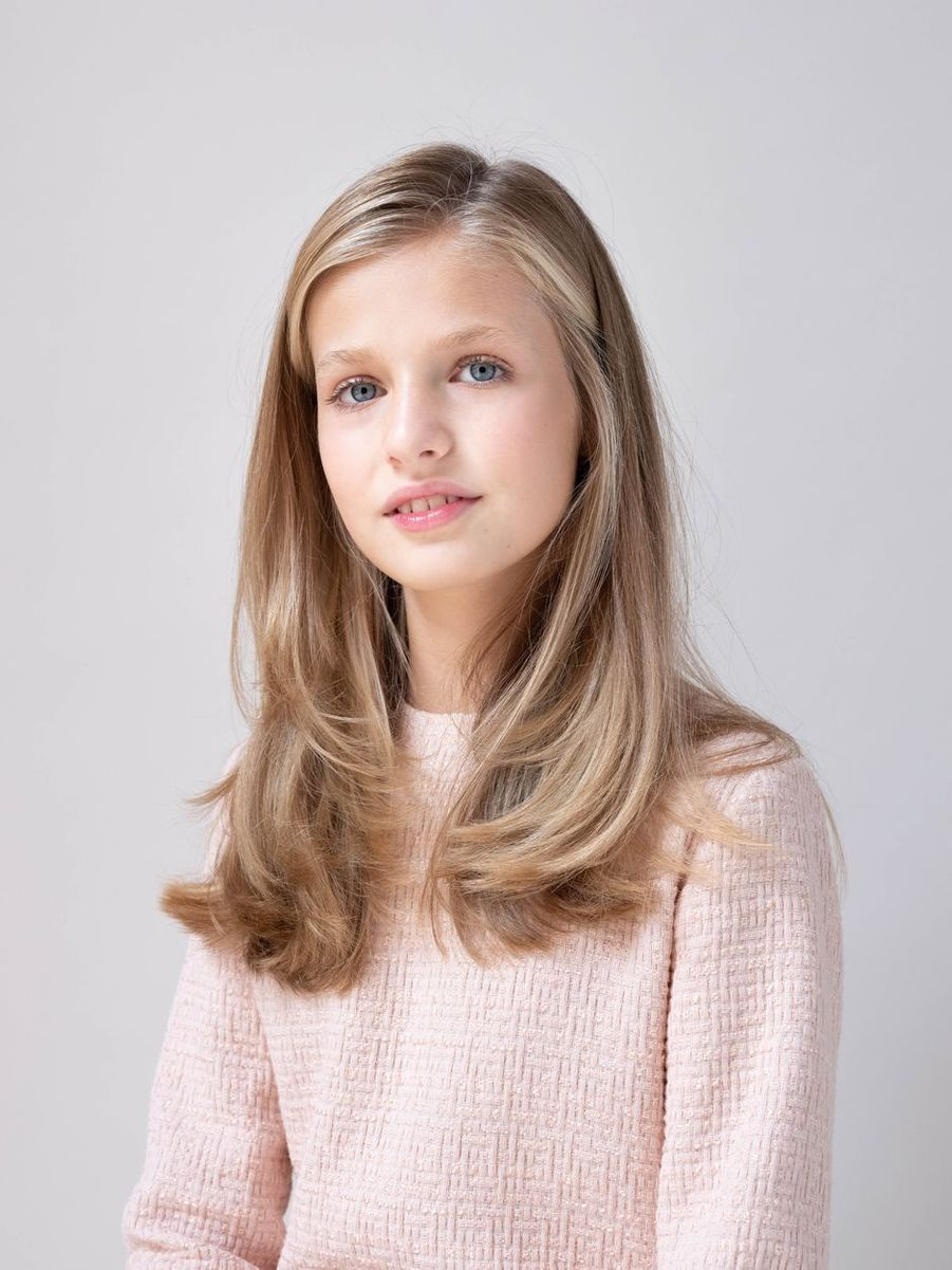 Nouveau portrait de la princesse Leonor d'Espagne, dévoilé le 11 février 2020