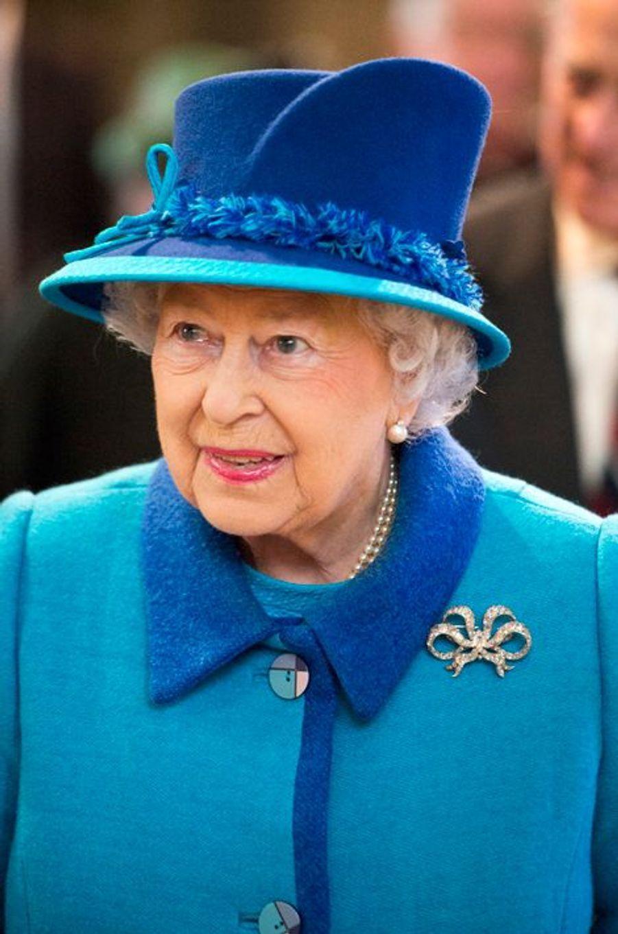 La reine Elizabeth II à Canterbury, le 26 mars 2015
