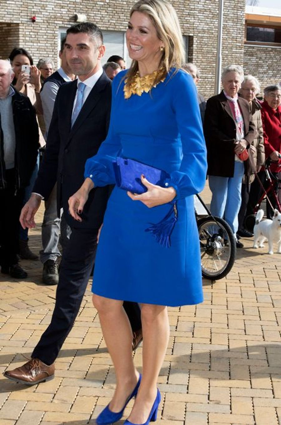 La reine Maxima des Pays-Bas à Apeldoorn, le 24 mars 2015