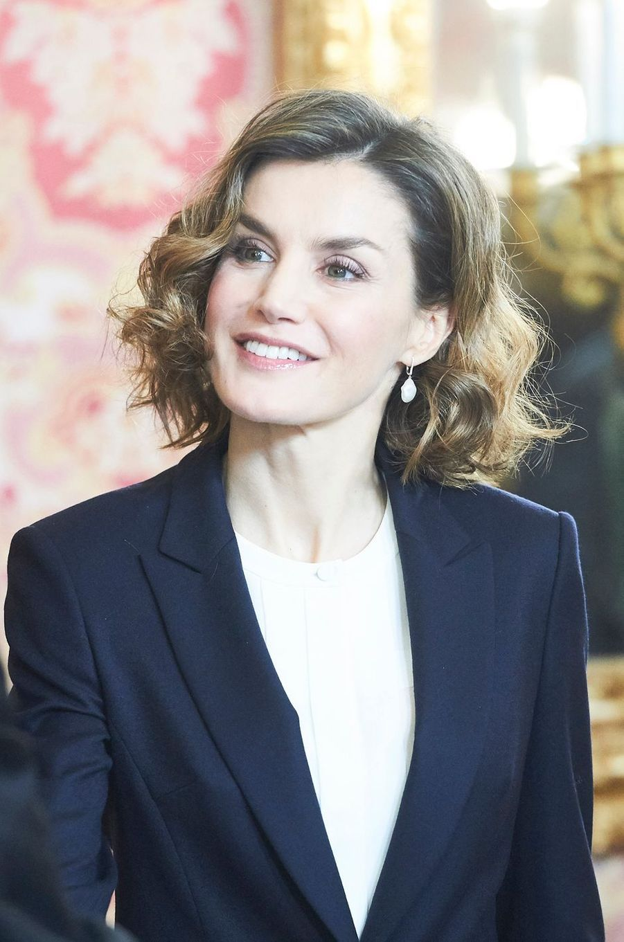 La reine Letizia d'Espagne, le 14 décembre 2015