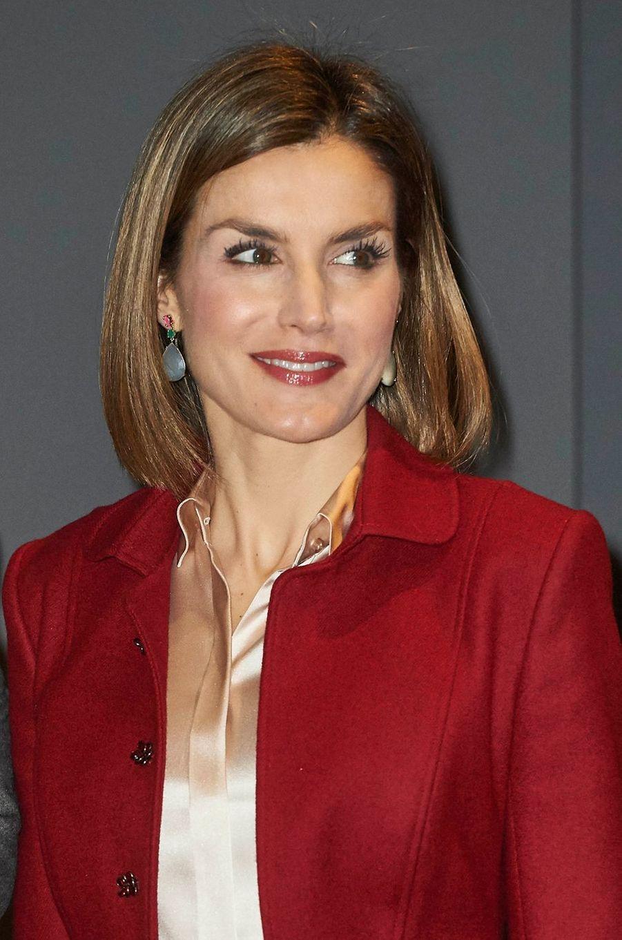 La reine Letizia d'Espagne, le 23 novembre 2015