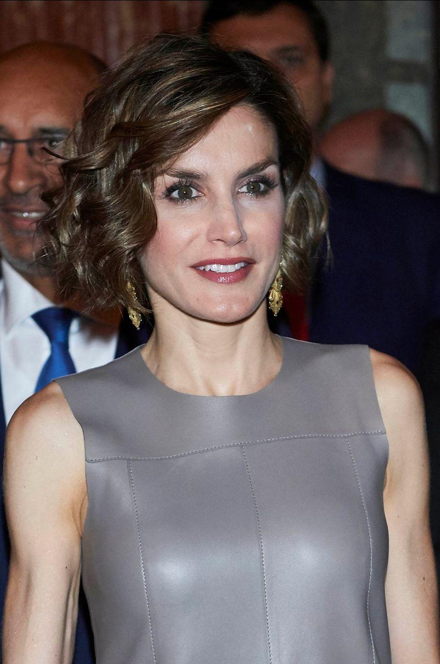 La reine Letizia d'Espagne, le 4 juin 2015