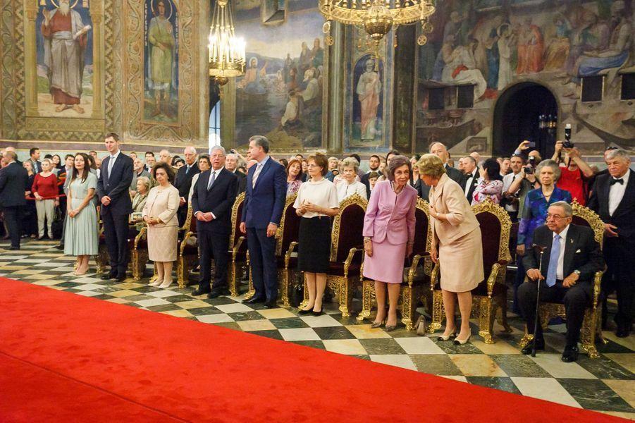 L'ancienne reine Sofia d'Espagne en Bulgarie, le 16 juin 2017