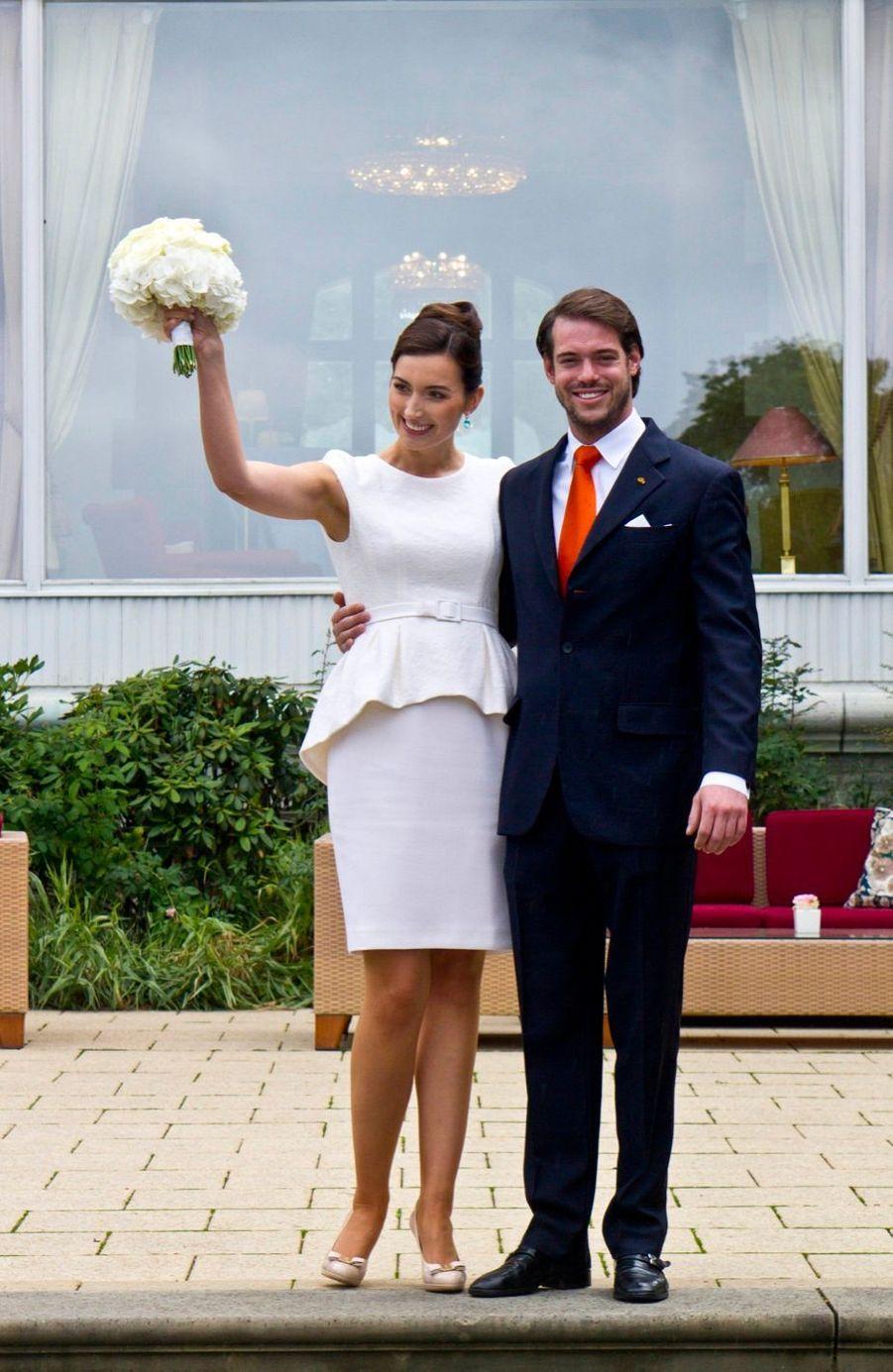 Le mariage civil de Claire et Félix de Luxembourg