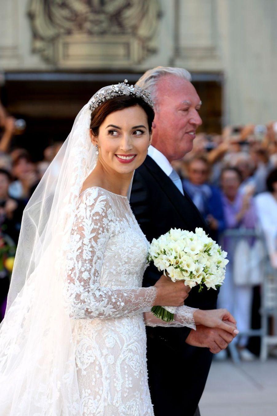 Le mariage religieux de Claire et Félix de Luxembourg