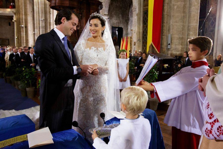 Au mariage de Claire et Félix de Luxembourg