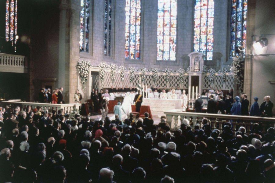 Mariage du prince héritier Henri de Luxembourg et Maria Teresa Mestre, le 14 février 1981