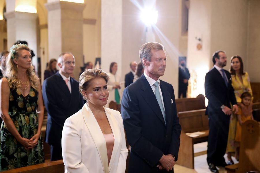 Baptême du prince Charles de Luxembourg à l'abbaye de Clervaux, le 19 septembre 2020