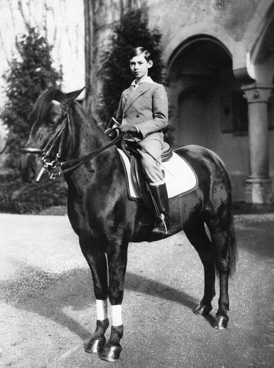Le prince Jean de Luxembourg, vers 1930