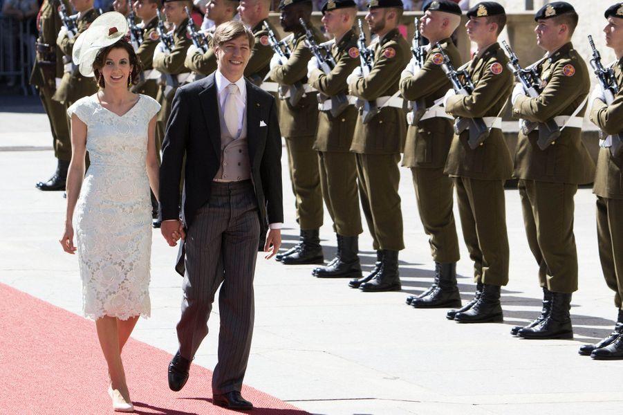 La princesse Tessy et le prince Louis de Luxembourg à Luxembourg, le 23 juin 2016
