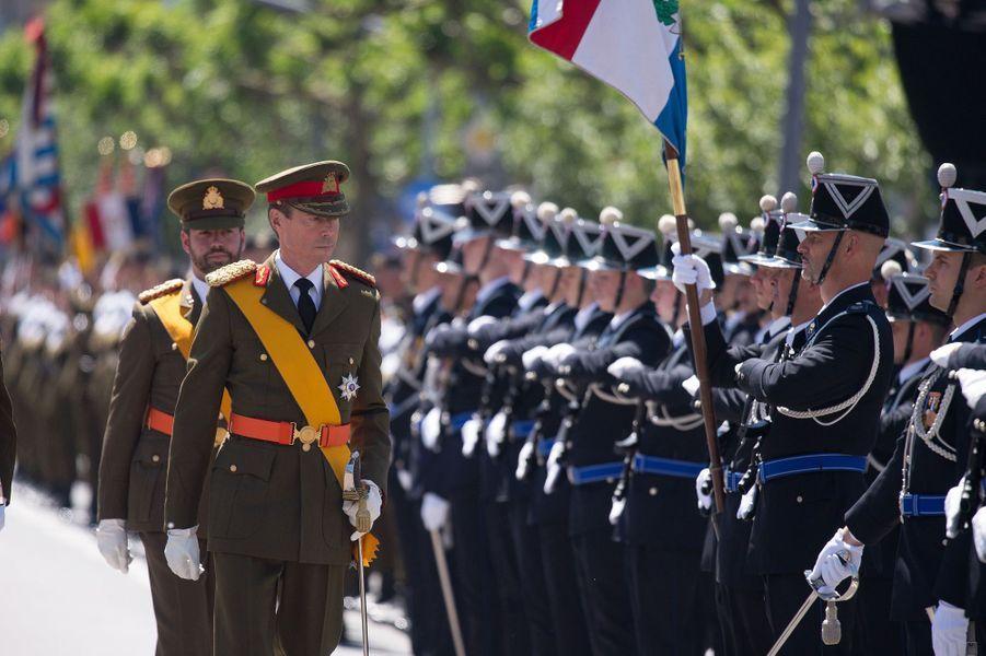 Le grand-duc Henri de Luxembourg à Luxembourg, le 23 juin 2016