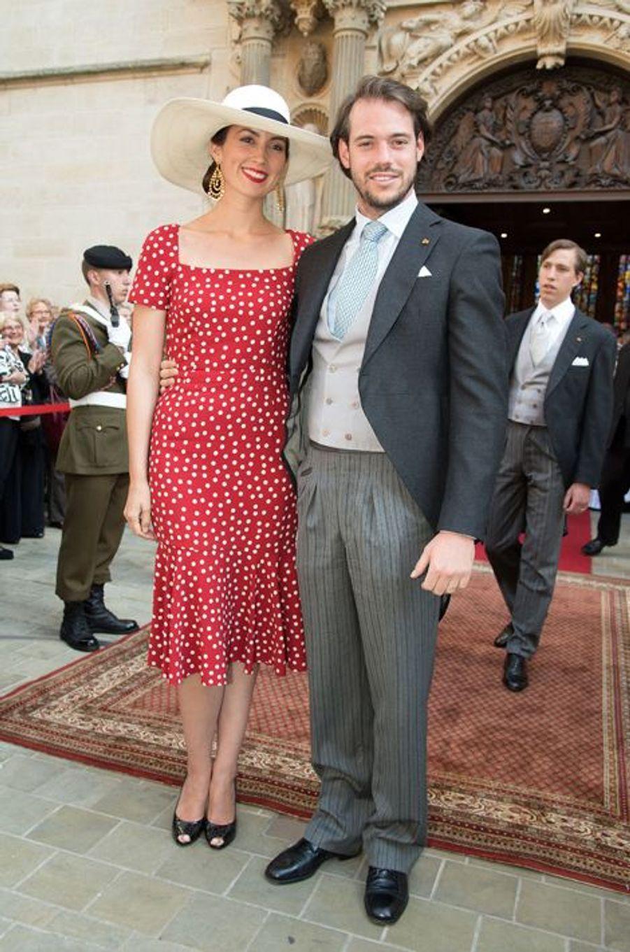 La princesse Claire et le prince Félix à Luxembourg, le 23 juin 2015