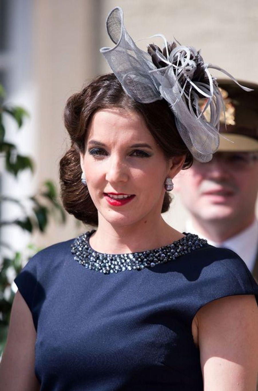 La princesse Tessy à Luxembourg, le 23 juin 2015