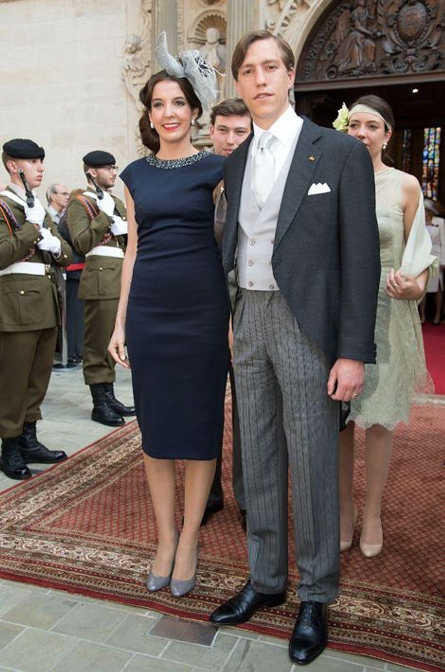 La princesse Tessy et le prince Louis à Luxembourg, le 23 juin 2015