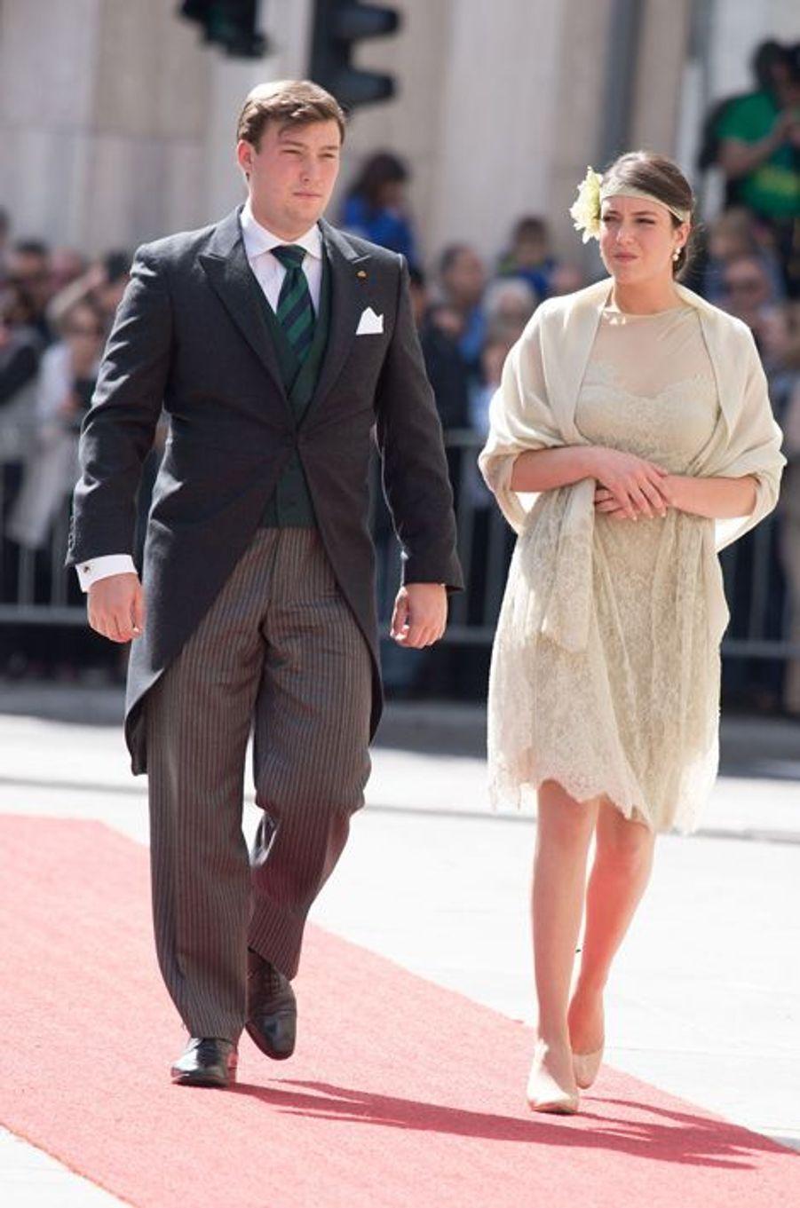 Le prince Sébastien et la princesse Alexandra à Luxembourg, le 23 juin 2015