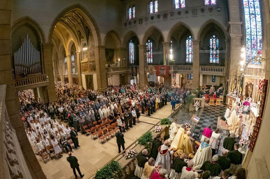 La famille grand-ducale à Luxembourg, le 26 mai 2019