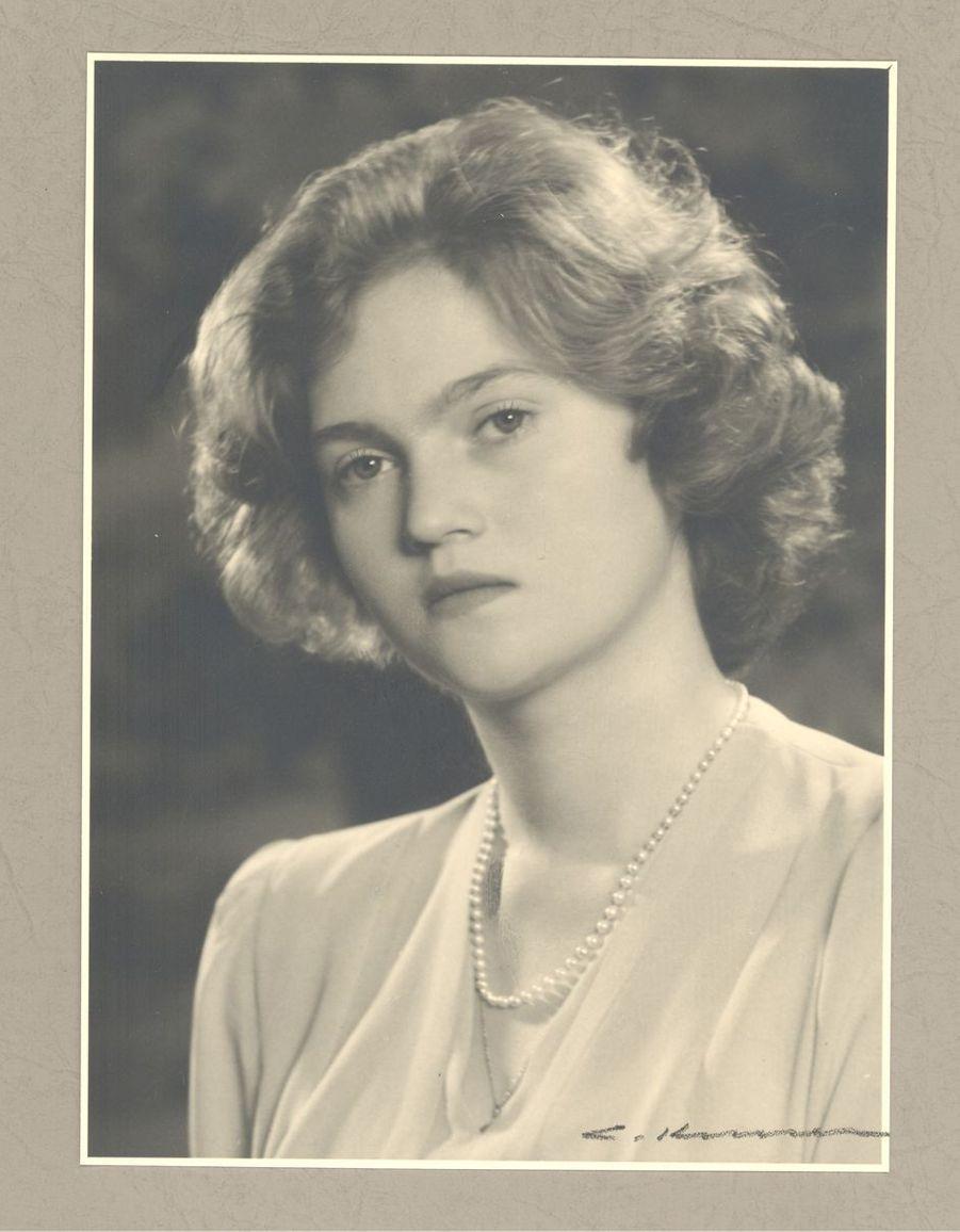 La princesse Alix de Luxembourg. Photo non datée