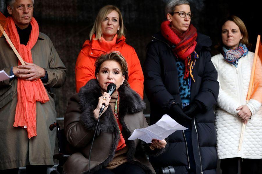 La grande-duchesse Maria Teresa de Luxembourg à Luxembourg, le 23 novembre 2019