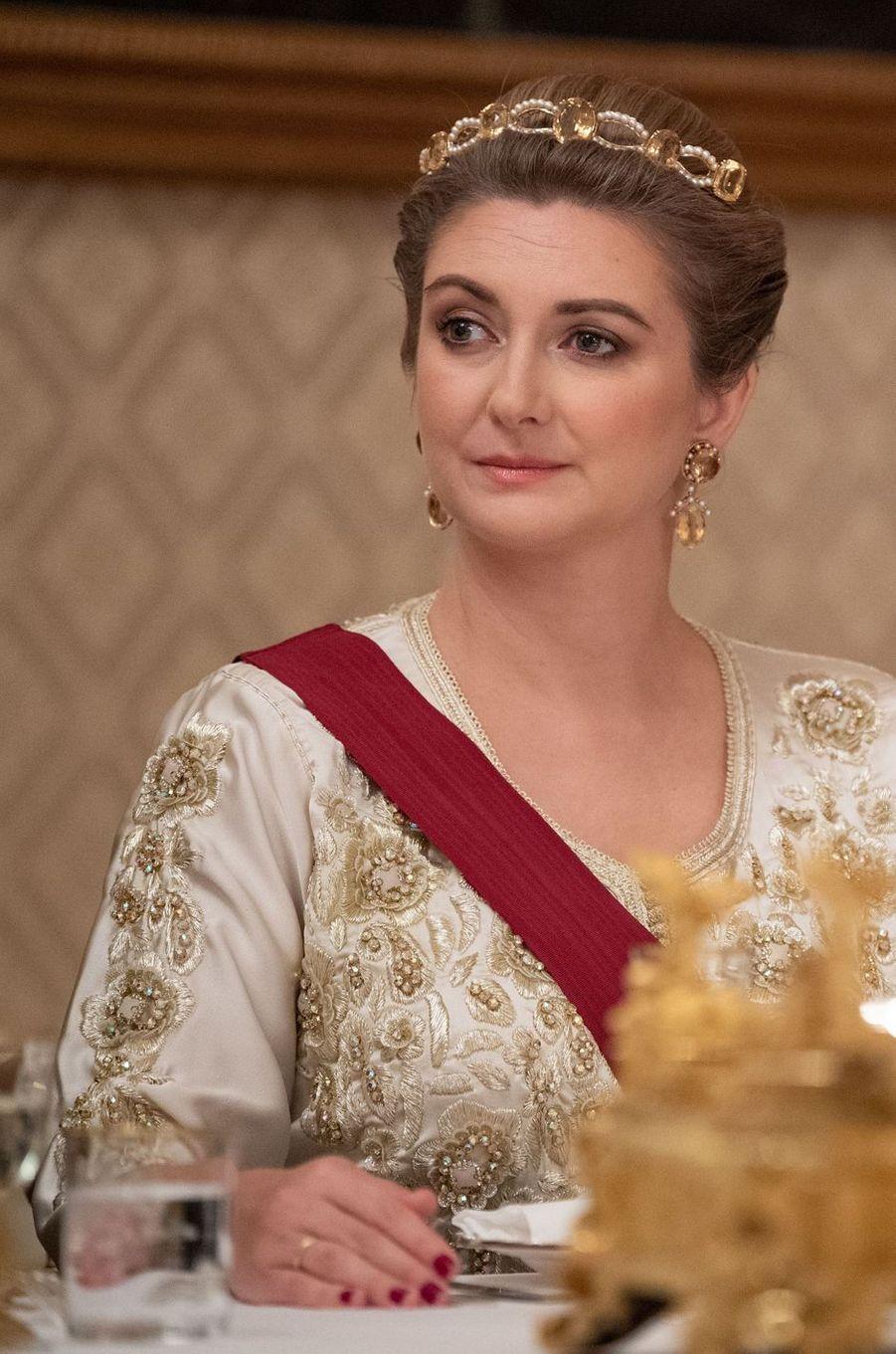 La princesse Stéphanie de Luxembourg à Luxembourg, le 15 octobre 2019