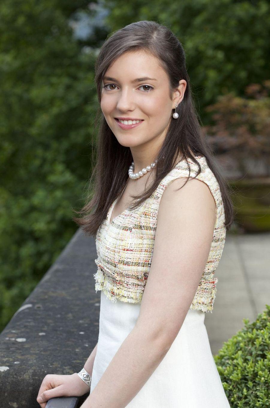 La princesse Alexandra de Luxembourg, le 13 octobre 2009