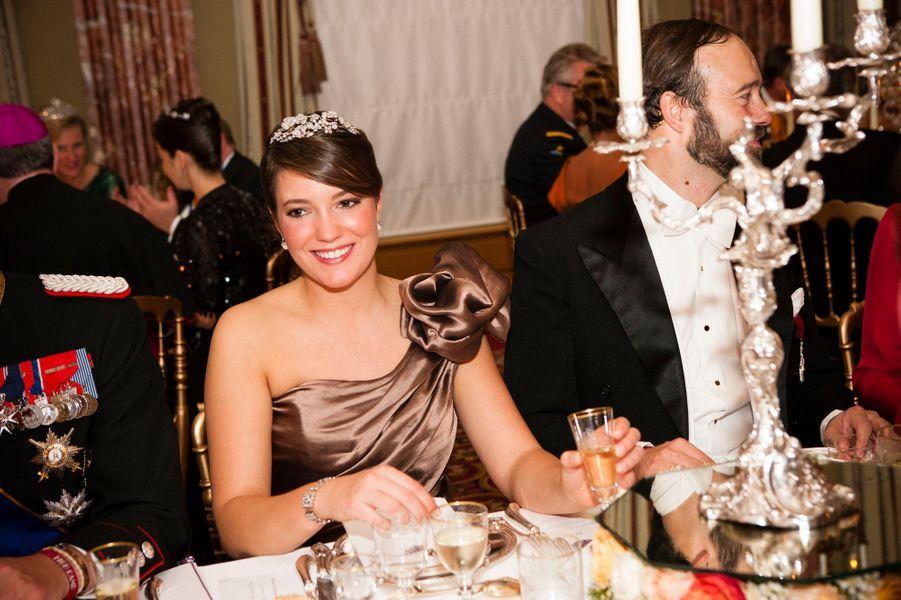 La princesse Alexandra de Luxembourg, le 19 octobre 2012