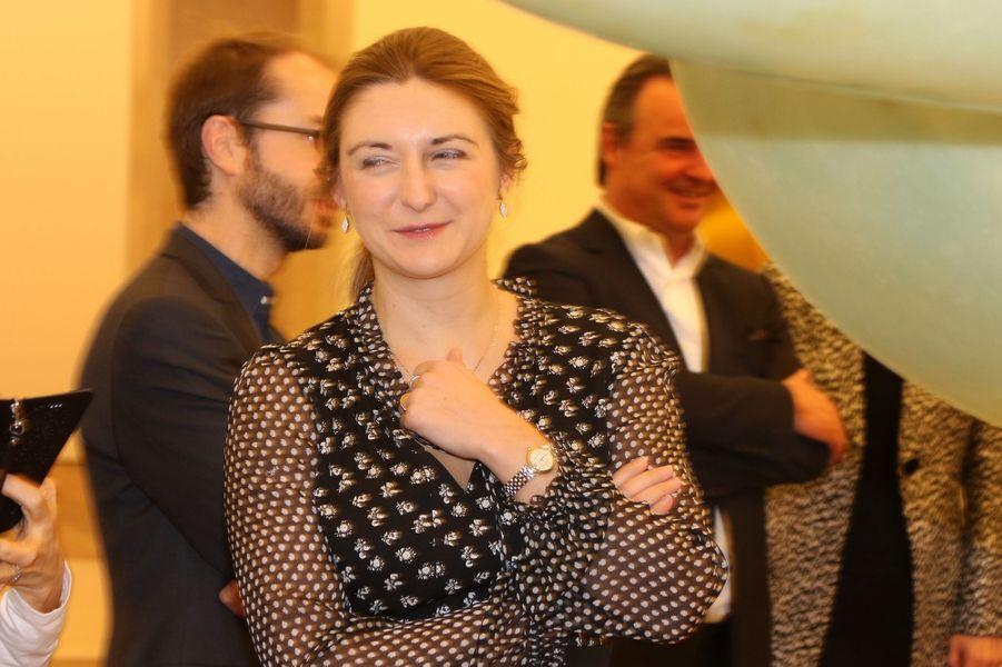 La princesse Stéphanie de Luxembourg à Luxembourg, le 9 février 2017
