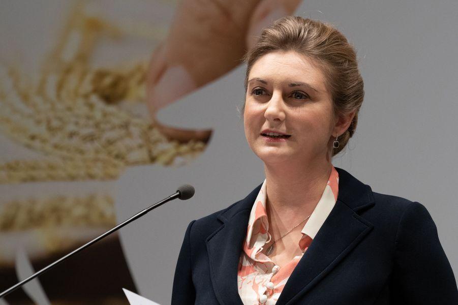 La grande-duchesse héritière Stéphanie de Luxembourg à Luxembourg, le 28 novembre 2018