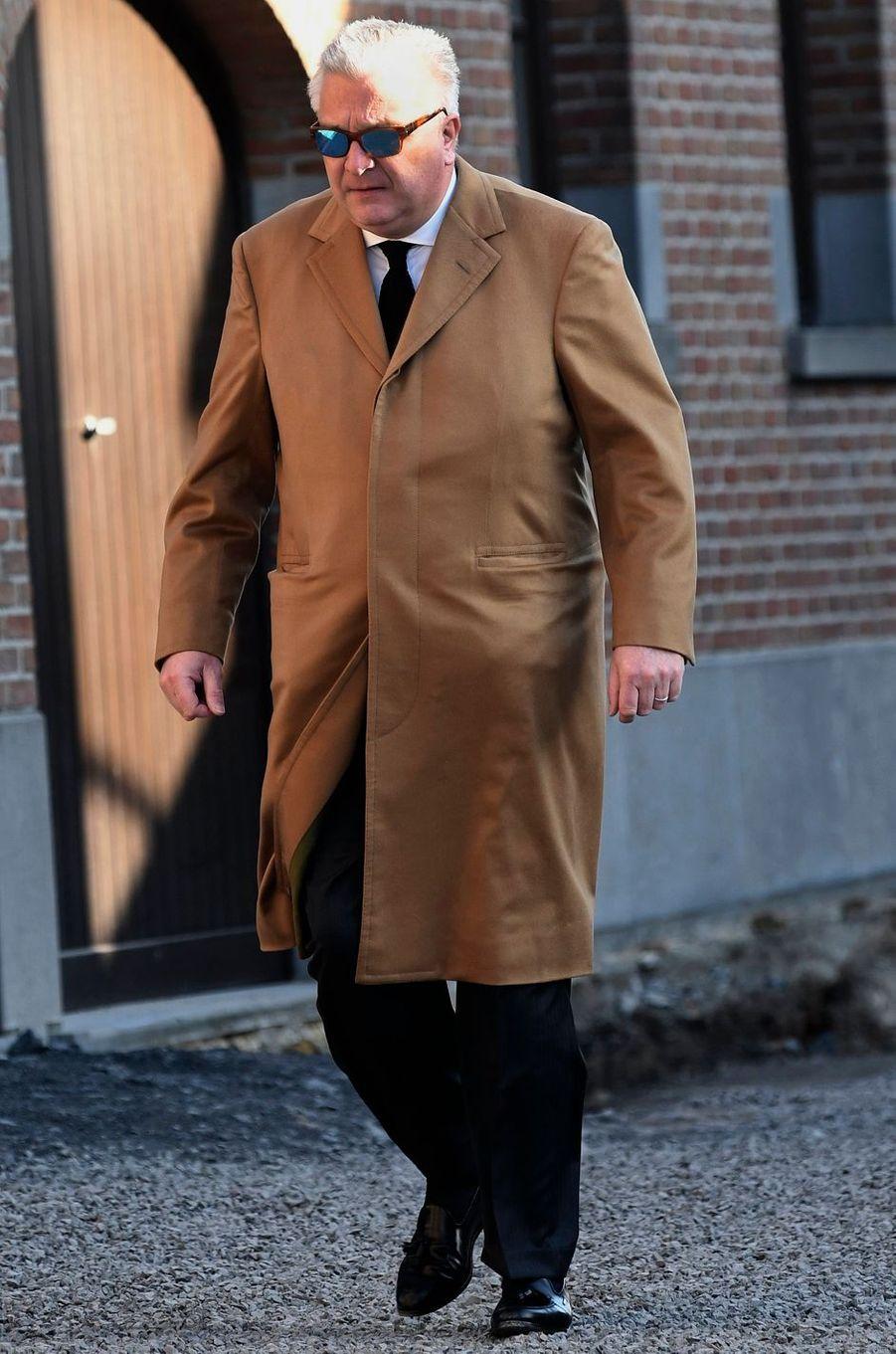 Le prince Laurent de Belgique, à Beloeil le 16 février 2019