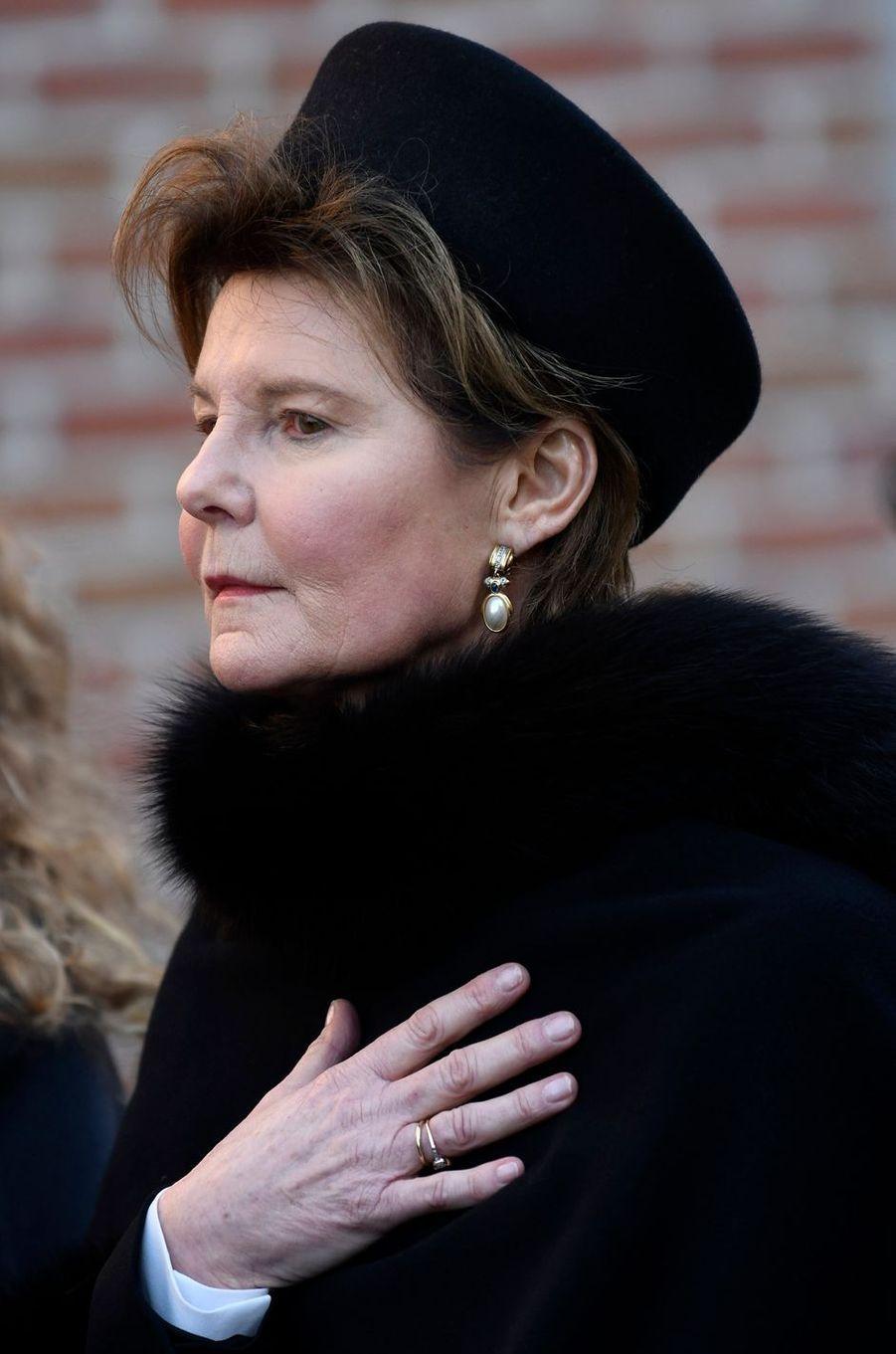 La princesseMargaretha de Liechtenstein, à Beloeil le 16 février 2019