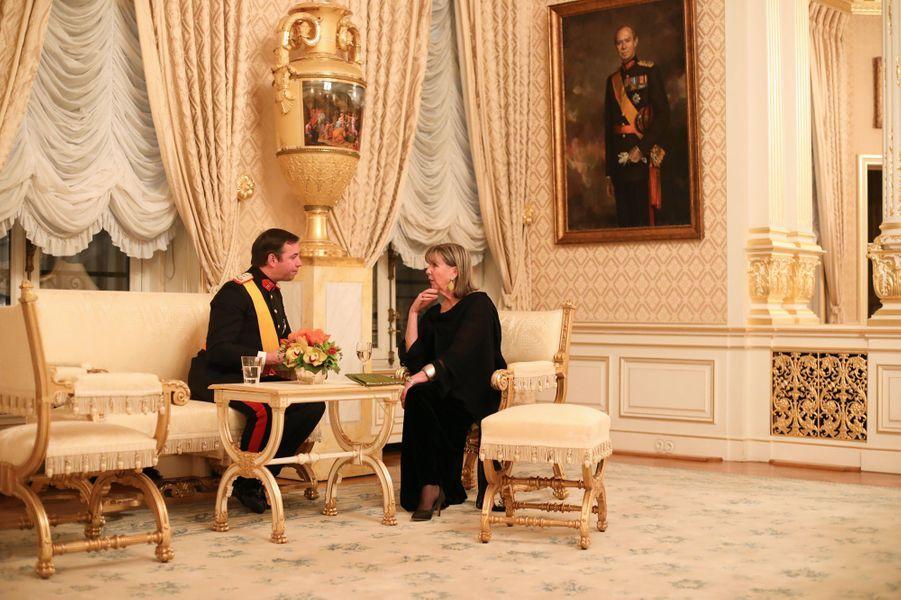 Le prince Guillaume de Luxembourg à Luxembourg, le 16 janvier 2019