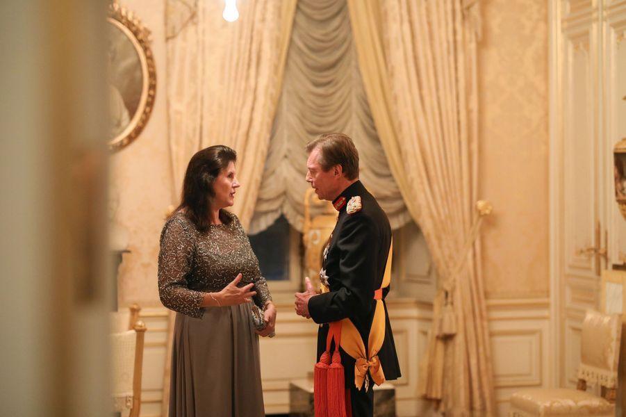 Le grand-duc Henri de Luxembourg à Luxembourg, le 16 janvier 2019