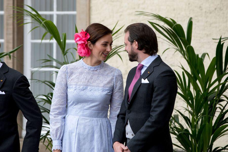 La princesse Claire et le prince Félix de Luxembourg à Luxembourg, le 23 juin 2018