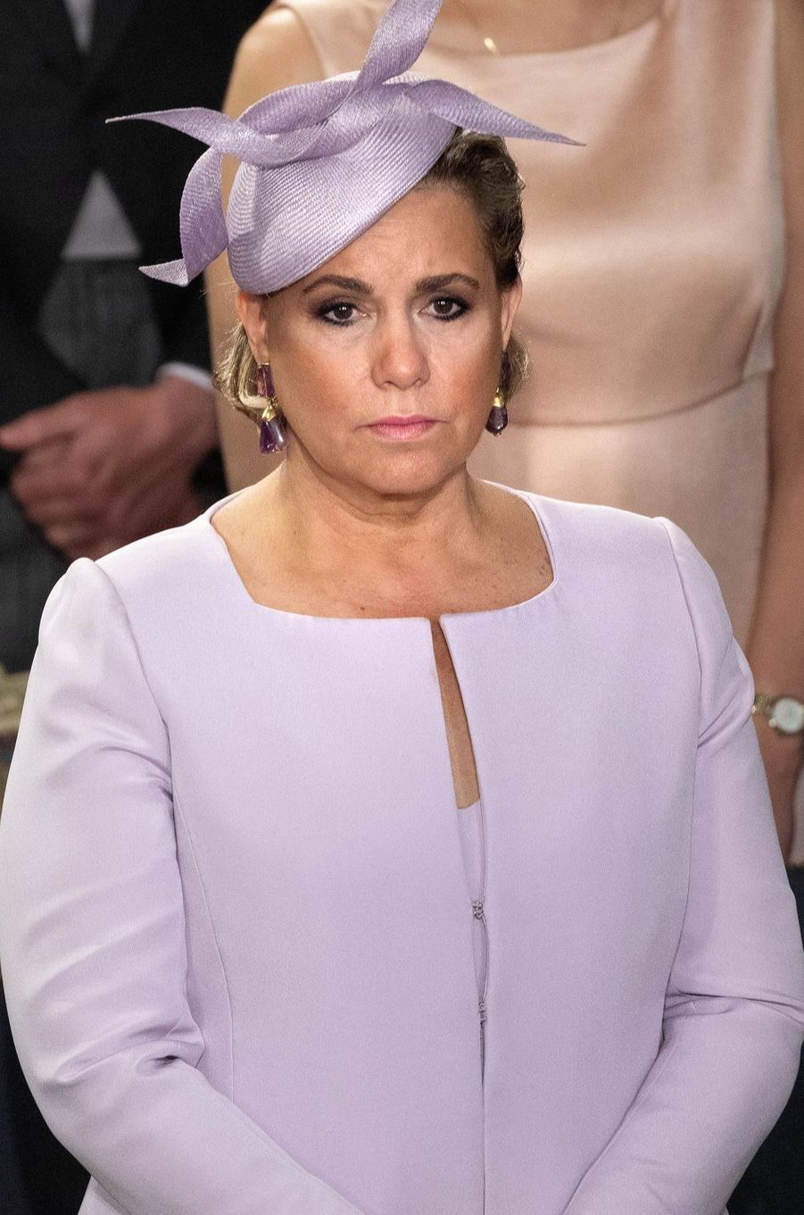 La grande-duchesse Maria Teresa de Luxembourg à Luxembourg, le 23 juin 2018