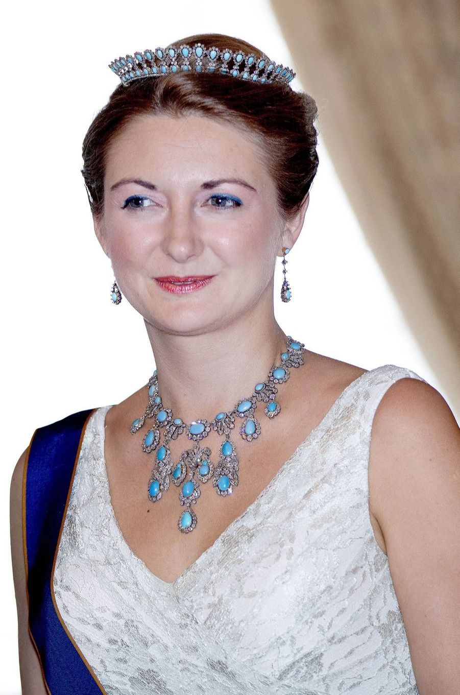 La princesse Stéphanie de Luxembourg à Luxembourg, le 23 juin 2018