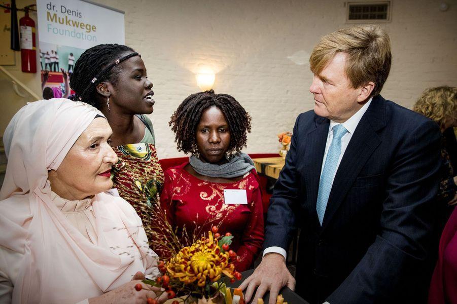 Le roi Willem-Alexander des Pays-Bas à La Haye, le 28 novembre 2018
