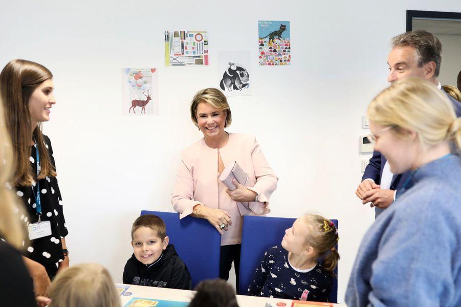 La grande-duchesse Maria Teresa de Luxembourg à Luxembourg, le 24 septembre 2018