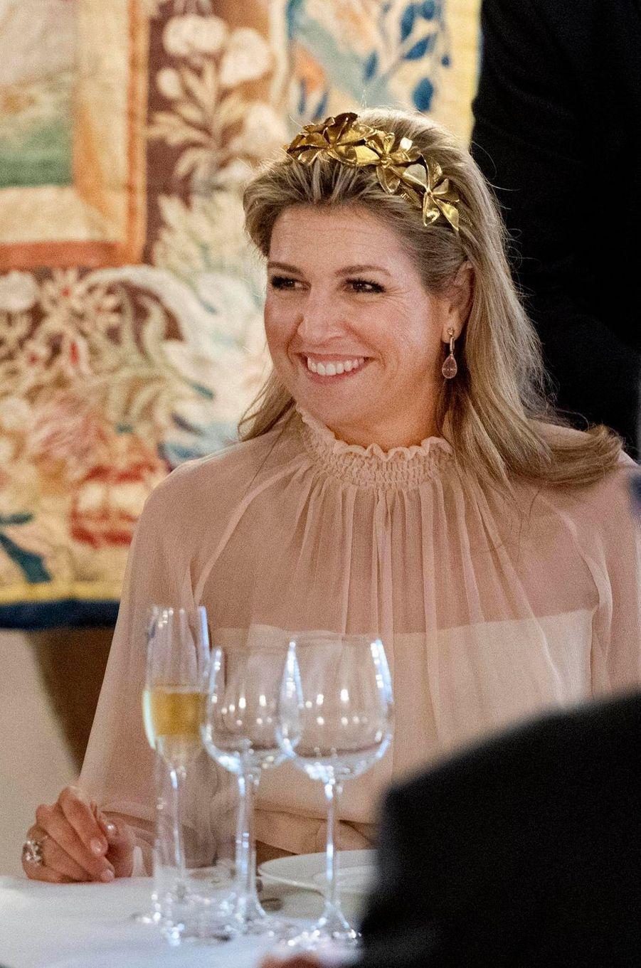 La reine Maxima des Pays-Bas à Vianden, le 24 mai 2018