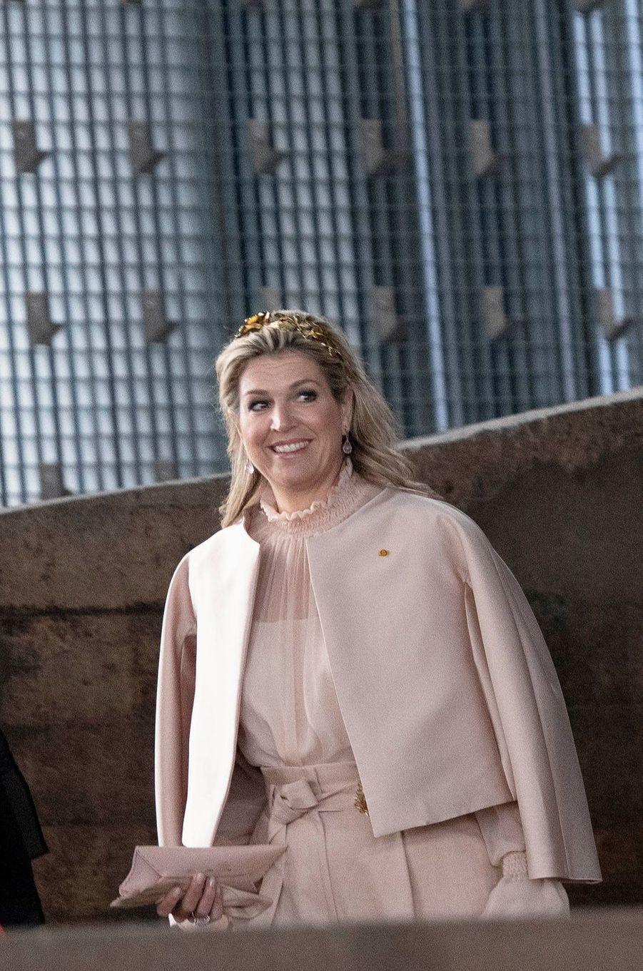 La reine Maxima des Pays-Bas au Luxembourg, le 24 mai 2018