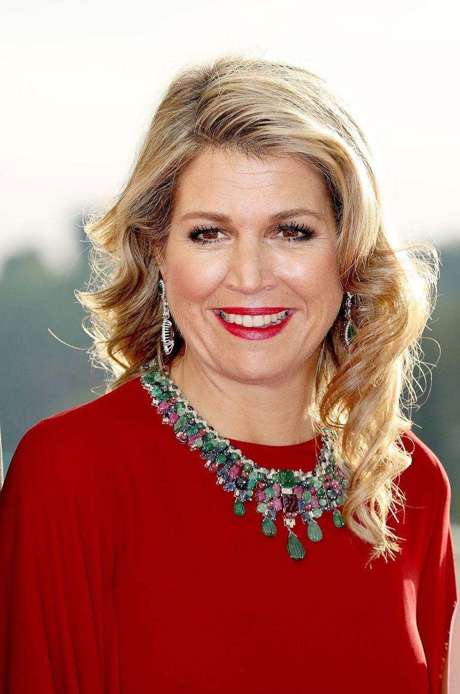 La reine Maxima des Pays-Bas à Luxembourg, le 24 mai 2018