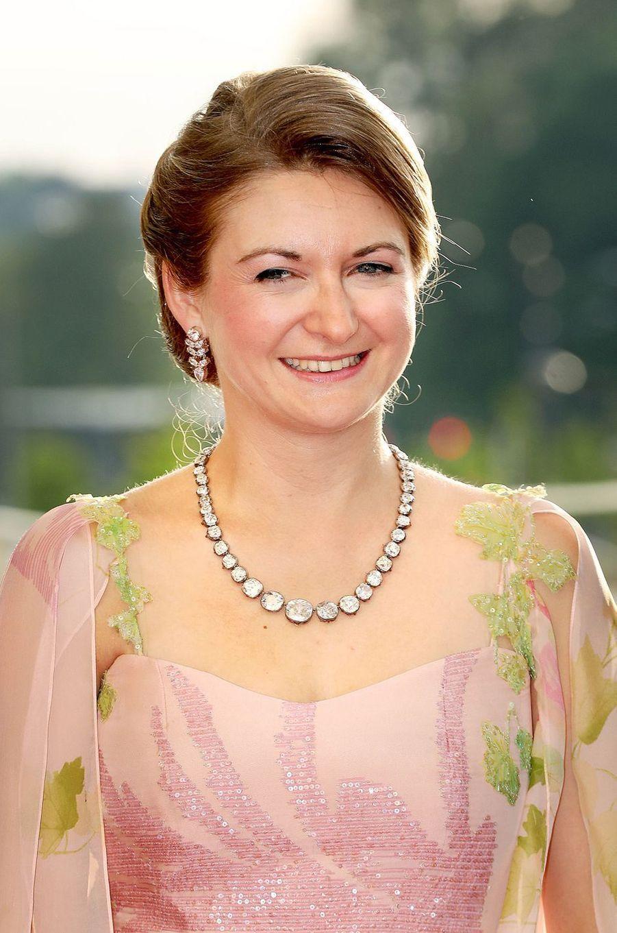 La princesse Stéphanie de Luxembourg à Luxembourg, le 24 mai 2018