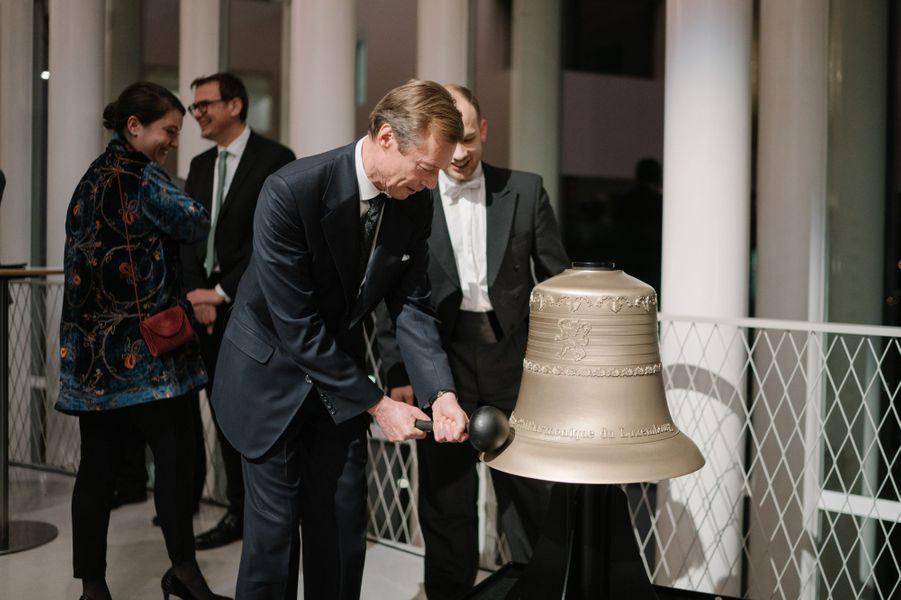 Le grand-duc Henri de Luxembourg à Luxembourg, le 13 décembre 2018