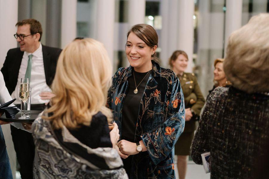 La princesse Alexandra de Luxembourg à Luxembourg, le 13 décembre 2018