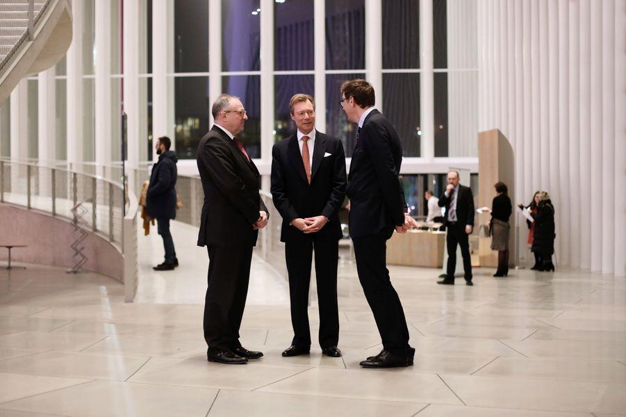 Le grand-duc Henri de Luxembourg à Luxembourg, le 9 janvier 2019